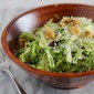 Brussels Sprouts Salad with Green Apples and Cranberries {Thanksgiving Potluck + Giveaway}