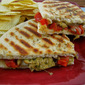 Pesto Chicken & Red Pepper Panini