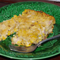Corn and Ham Cheese Casserole