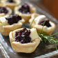 Blueberry Bonanza {Part 1} Blueberry Brie Tartlets