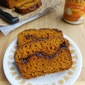 Nutella Swirled Pumpkin Bread