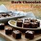 Dark Chocolate Pumpkin Fudge with Ginger Snap Crust & The Ultimate Thanksgiving Twitter Party