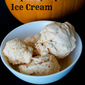 Pumpkin and Maple Syrup Ice Cream