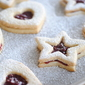 {nutty, buttery, awesome and gluten-free} Raspberry Linzer Cookies
