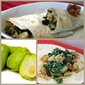 Chayote Squash & Black Bean Breakfast Burrito