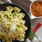 Creamy Corn Bow tie Pasta Recipe