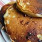 Cinnamon Pecan Swirl Pancakes