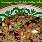 #BeingThankful #SundaySupper...Featuring Cornucopia Sweet Potato-Barley Salad
