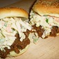 Southern Beef Barbecue Sandwiches with Creamy Coleslaw