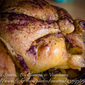 Roasted Chicken with Apples and Chestnuts Stuffing