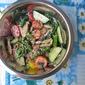 Peanut Butter-Sesame Mushroom Broccoli Salad