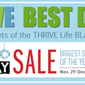 BEST of the Best THRIVE Life Black Friday Deals