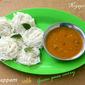 Idiyappam with Green peas Curry