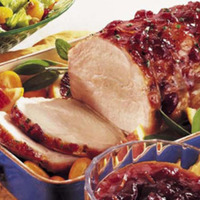 Slow Cooker Cranberry Pork Roast