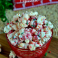 Peppermint Crunch Popcorn