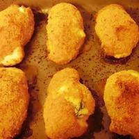 Baked Mozzarella Florentine Chicken Rolls