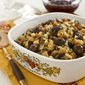 Chestnut, Pear, and Wild Rice Stuffing