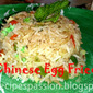 Chinese Egg fried rice : Fried rice recipe for kids