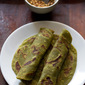 aloo palak paratha recipe, how to make aloo palak paratha recipe