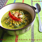 Palak Dal / Spinach cooked with lentils