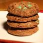 Best Chocolate Mint Chip Cookies!