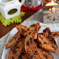 Whole Wheat Biscotti Recipe with Dark Chocolate & Cherries