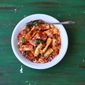 Homemade Rigatoni With San Marzano Sauce