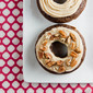 Chocolate Pumpkin Donuts with Buttercream