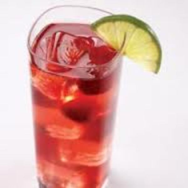 Cranberry raspberry sparkle non alcoholic recipe for Best alcohol to mix with cranberry juice
