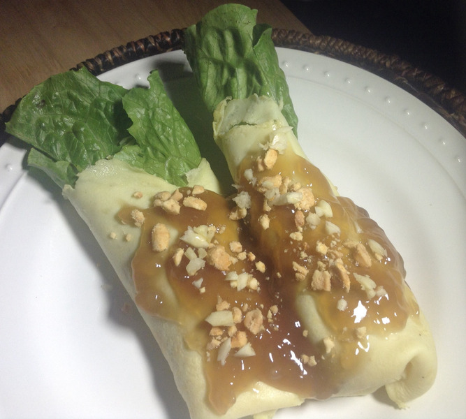 Filipino Lumpiang Sariwa (Fresh Vegetable Spring Roll ...