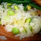 Pineapple Rice with Green Soybeans