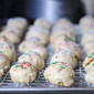 {gluten-free} Italian Wedding Cookies (Lemon Cake Cookies)