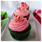 Peppermint Chocolate Cupcakes #ChristmasWeek #Freund