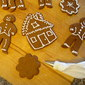 Grandma's Gingerbread Boys (Molasses Cookie Cutouts)