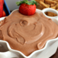Chocolate Almond Cheesecake Dip
