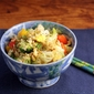 Brown rice (Recipe: vegetable fried rice)