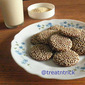 CHOCOLATE SESAME COOKIES
