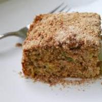 Mercedes' green tomatoes cake