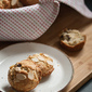 Festivus for the Rest of Us: Cherry Almond Muffins (or Muffin Tops)