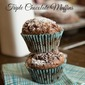 Triple Chocolate Muffins (12 Days of Giveaways)