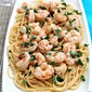 Shrimp Scampi with Spaghetti #Campbell's Dinner Sauces