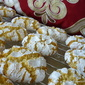 ALMOND intense RICCIARELLI orange cookie-Siena-Gluten Free