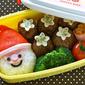 How to Make SUPER EASY Santa Claus Bento Box - Video Recipe