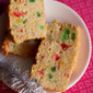 eggless tutti frutti cake recipe, how to make tutti frutti cake recipe