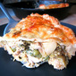 Curried Chicken or Turkey Pie