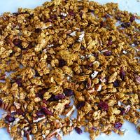 Pumpkin Cranberry Nut Granola