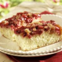 Rhubarb-Ginger Upside-Down Cake
