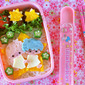 How to Make Kiki & Lala Little Twin Stars Bento Lunch Box - Video Recipe