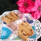 Citrusy Biscotti with Dried Cranberries, Chocolate Chips and Coconut