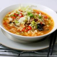 Instant Tom Yam Noodle Soup